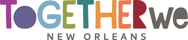 together we nola logo